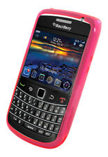 Nueva Rosa Gel piel Funda Pouch Para Blackberry 9700