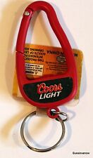 Coors Light Beer Bottle Opener Carabiner Red Alcohol Key Chain Clip
