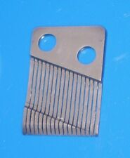 18 Note Steel Harp for a Music Box Movement - Vibration Plate - Comb
