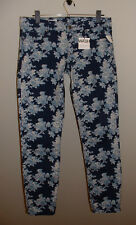NWT GAP ALWAYS SKINNY LOW RISE STRETCH FLORAL PRINT JEANS NEW SIZE 28/6 REGULAR
