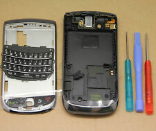 Oem black full housing cover case pour blackberry torch 9800 bande de remplacement