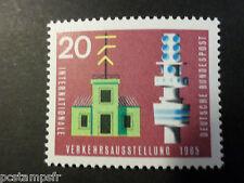 Germany Federal, Rfa 1965 Tp 343 Telecommunication Transport New MNH