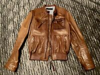 dsquared2 Learher Jacket Size 50 Retail $3500