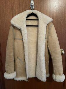 Vintage Wool/Suede Shearling Jacket