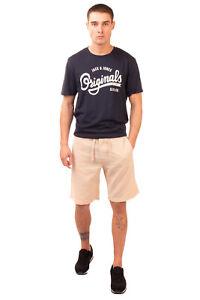 GUESS Shorts Size S Linen Blend Drawstring Waist & Button Fly