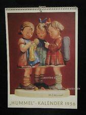 "Goebel Hummel Kalender Calendar 1956, Titelbild ""'s Meisterstück"" 177"