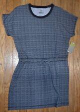 Tek Gear Beach Short Sleeve Coverall Dress Size Large Slip On