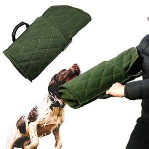 Bite Dog Sleeve Training K9 Schutzhund Police Suit Arm abric Level Fast Shipping