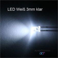S1005-50 Stück LEDs 3mm blau diffus blue