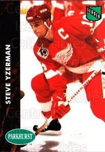 1991-92 Parkhurst #434 Steve Yzerman