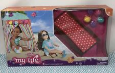 "My Life As Beach Cabana Play Set Fits 18"" Dolls 3pc Set Free Shipping"