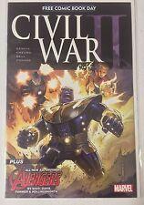 CIVIL WAR II #0, 1-8, FCBD (2016)  VARIANTS INCLUDED, BENDIS, DEATH OF HULK, NM