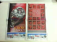 Chicago Blackhawks Stanley Cup Champions 21 Posters/Goalie Mask(TRIBUNE 6/26/13)