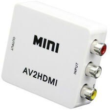 Mini Composite VCBS to AV2HDMI Audio Converter RCA/AV to HDMI Male to Female