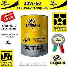 1 LITRO OLIO MOTORE AUTO BARDAHL XTR 39.67 RACING C60 20W60 PISTA CORSA 20W-60