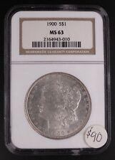 1900 Morgan Dollar NGC-MS63