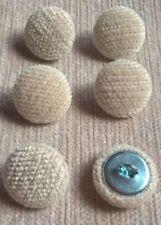 Chenille Velvet 24L//15mm Lemon Fabric Covered Loop Back Upholstery Button Yellow