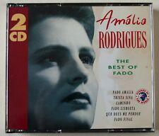AMALIA RODRIGUES / THE BEST OF FADO / 2 X CD ORIG FATBOX SET / ADD STEREO / 1992