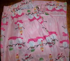 Girls Pajama Pants sz 16 OLD NAVY Pink/Snow People/Stick Arms in Hats&ScarvesNEW
