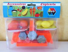MOB SUPERJOUET - BALANCE ACCESSOIRES D'EPICERIE - MADE IN FRANCE ANNEES 70