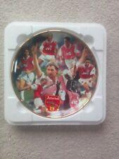 More details for arsenal f.c.danbury mint porcelain plate 1997/98 double