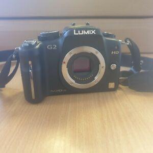 Panasonic LUMIX DMC G2 12.1MP Digital Camera  (Body only) Read Description.
