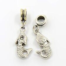 Mermaid Hang Charm for European Style Bracelet - UK Seller FREE 1st CLASS P&P