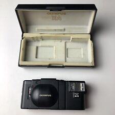 Olympus Xa 35mm Rangefinder Film Camera w/ A11 Flash - Works Great Tested