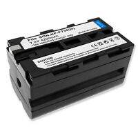 4.2AH Battery for SONY NP-730 NPF730 NP-F730H Camcorder 4200mAh