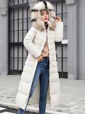 Women WInter Long Parka Jacket Coat Big Fur Collor New Cotton Padded Outwear