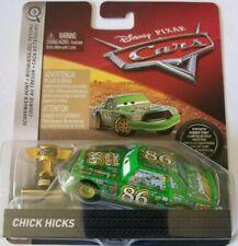 Disney Pixar Cars Chick Hicks Scavenger Hunt Rubber Tires & Trophy Diecast VHTF
