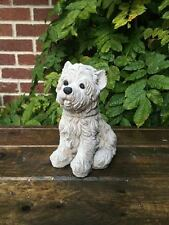Small West Highland Terrier Dog Garden Ornament Latex Mould/Mold (No.DOG23)