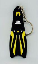 Mini Fin Scuba Diving Diver Key chain Keychain Bleu DA04