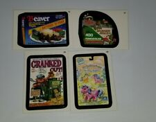 Lot of 4 wacky packages Lost wacky stickers