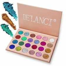De'Lanci Nocturne Eyeshadows Palette With Mirror-Matte+Shimmer+Glitter-25 Color