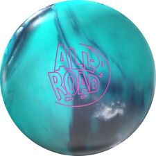 12lb NIB Storm ALL ROAD New 1st Quality Bowling Ball CARBON/TEAL
