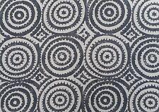 """Designers Guild tessuto """"corales"""" ANTRACITE 2,7 metri (270 cm) misto lino"""