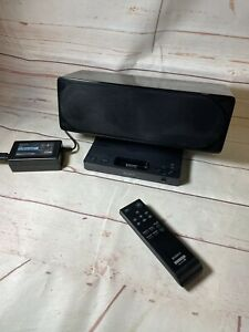 Sony SRS-GU10ip Ipod Iphone Standalone Speaker System/ Docking Station & Remote