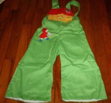 Vintage  size 2T one piece outfit Little Red Riding Hood and wolf CUTE!