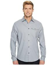 NWT $80 Under Armour Cascade Chambray Flannel Shirt Men's Size M 1297266 035