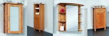 Badmöbel Set 4-tlg. Komplettbad Badezimmermöbel PEDRO Kiefer Massiv Honig Braun