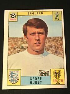Unused Panini World Cup Mexico 70 (1970) Card - GEOFF HURST (England)