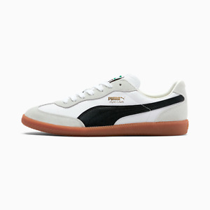 Puma Super Liga OG Retro Men's Sneakers Size 11 NWB White Black Gold Gum sole