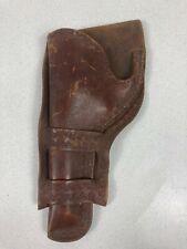 Vintage Leather Revolver Holster