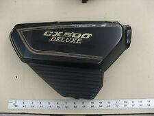 1981 Honda cx 500 custom side cover Right CX500 Deluxe Emblem battery
