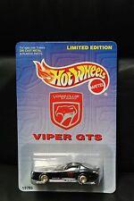 1997 HOT WHEEL DODGE VIPER CLUB AMERICA LIMITED EDITION REALRIDER 1/9999 PROMO