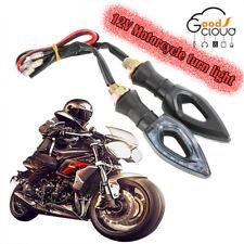 2x Amber 12 LED Universal Motorcycle Motobike Turn Signal Indicators Light Lamp