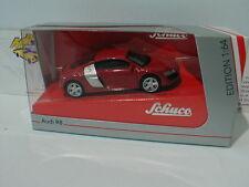 """Schuco 20109 - AUDI R8 Sportwagen in """" indischrot """" 1:64  SONDERPREIS !! 3,99 €"""