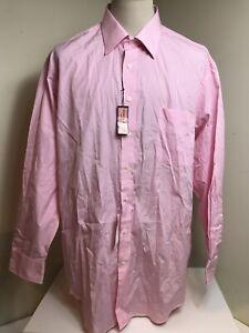 NEW Vineyard Vines 100's 2-PLY Cotton Mens Size 17.5/36 Button Front Dress Shirt