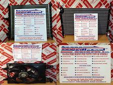 RADIATORE MOTORE FIAT BRAVO 1.2 / 1.4 / 1.6 BENZINA '96 IN POI MODULO COMPLETO